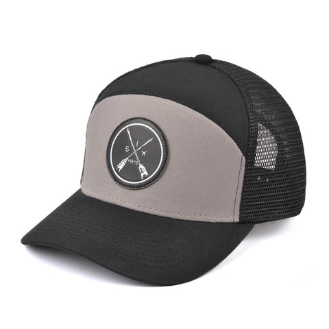 The Mesh Tradesman Arrow Snapback