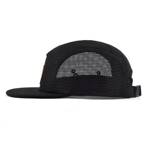 Image of Black Mesh Cottage Life 5 Panel Hat