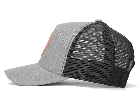 Image of Grey & Black Mesh Arrow Snapback