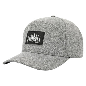 Heather Grey Explorer Snapback Hat