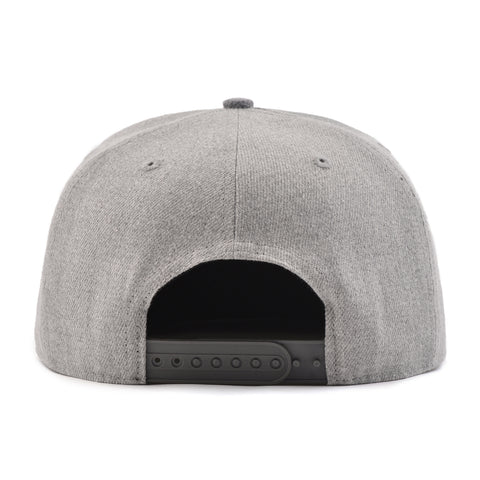 Image of Grey Two Tone SixHats Signature Snapback Hat