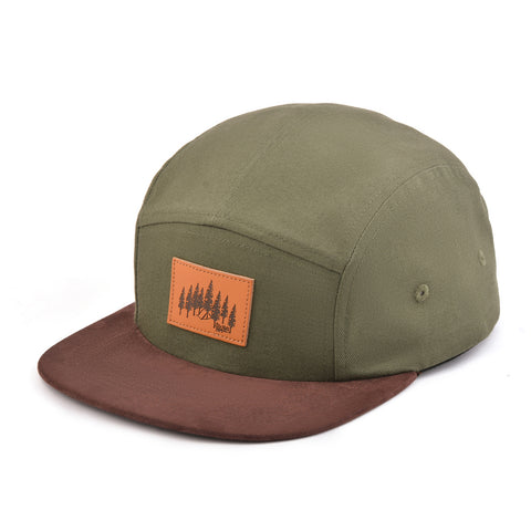 Image of Olive Explorer 5-Panel Snapback