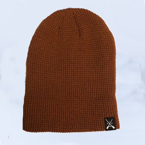 Image of Rustic Waffle Knit Beanie