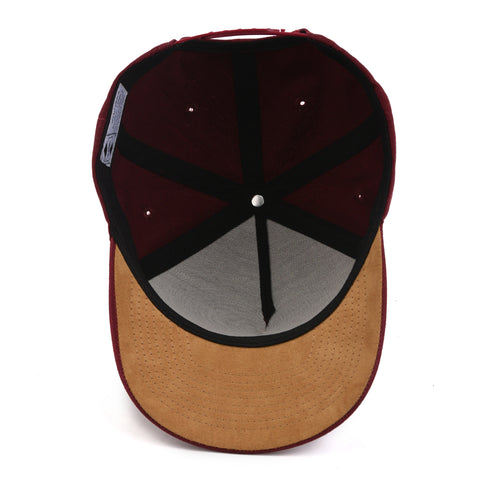 Image of Burgundy Arrow Snapback