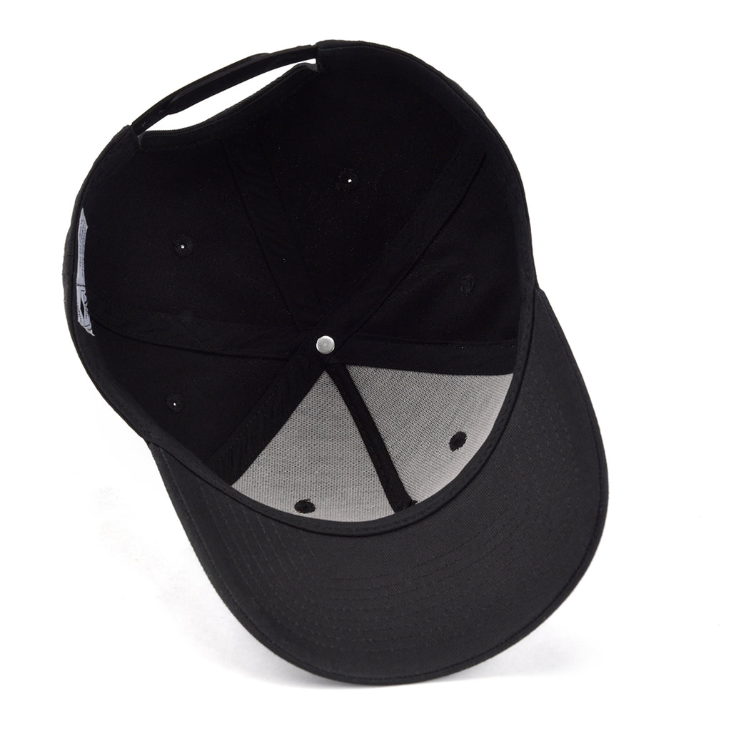 Black On Black Arrow Snapback