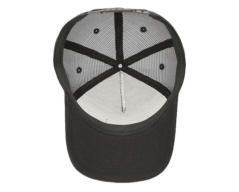 Image of Black SixHats Signature Snapback Hat
