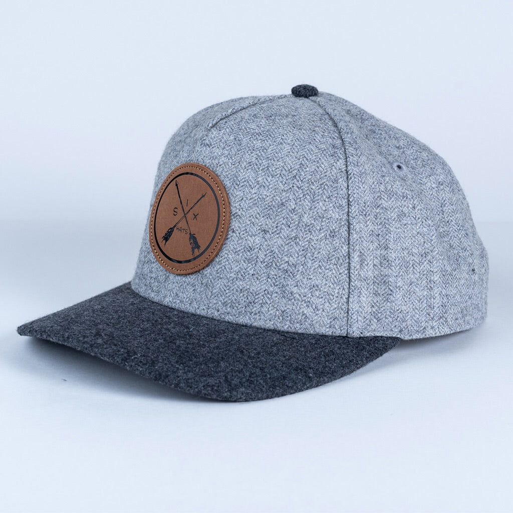 The Arrow 5 Panel Snapback