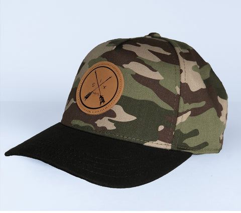 Image of The Arrow 5 Panel Snapback