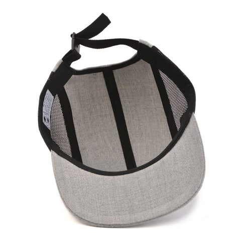 Image of Grey Mesh Arrow 5-Panel Snapback