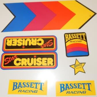 Star Cruiser Decal Set