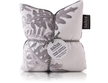 ORGANIC LAVENDER & JASMINE HEAT PILLOW - BLACK/WHITE