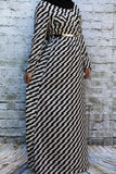 Black/White Pattern Maxi-Petite - Diamonds in the Rough Fashion