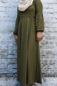 Vintage Pearl Olive Maxi-Petite - Diamonds in the Rough Fashion