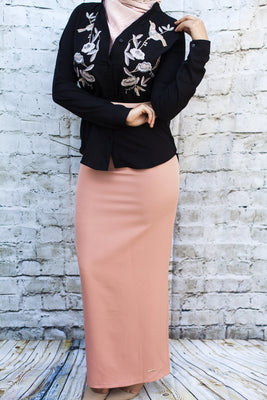 The Maxi Pencil Skirt - Diamonds in the Rough Fashion