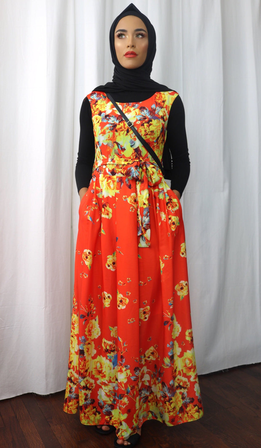 Orange Blossom Maxi - Diamonds in the Rough Fashion