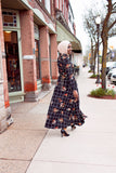 Checkered Floral Dress - Diamonds in the Rough Fashion