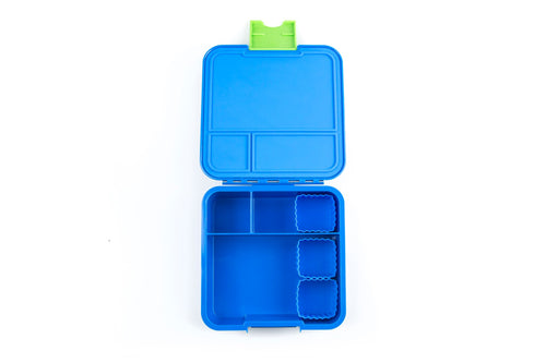 Bento Cups Square (Blue)
