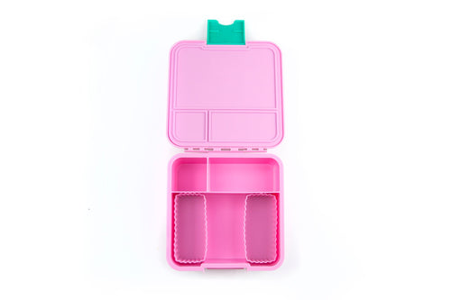 Bento Cups Rectangle (Pink)
