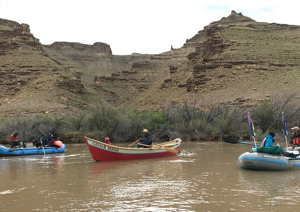 The Cedar Mesa and a rubber flotilla