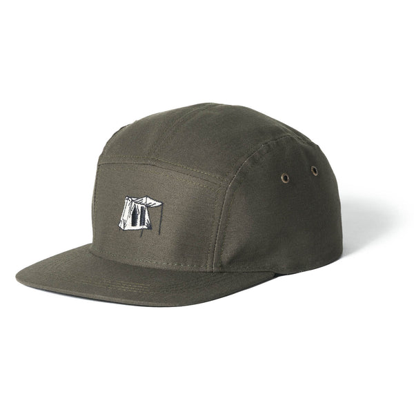 5-PANEL CAP GREEN - [variant_title] - Springbar Canvas