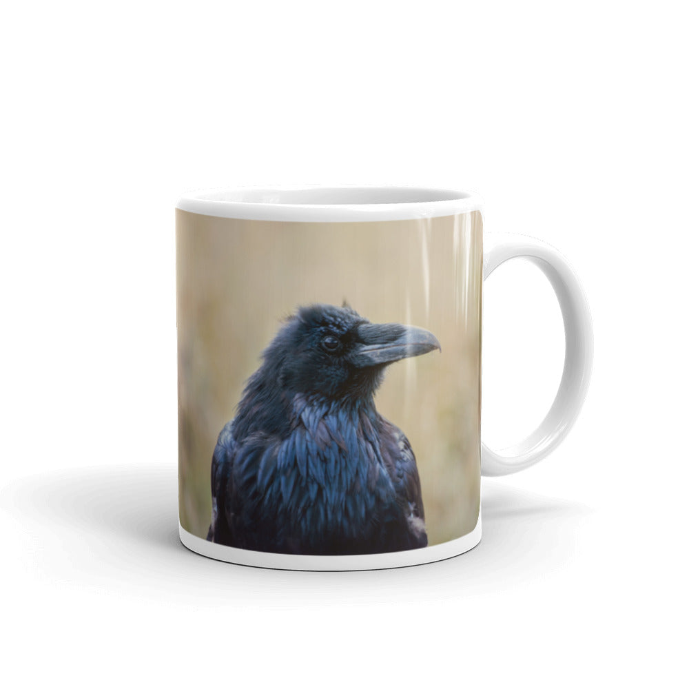 Raven Photo Coffee Mug