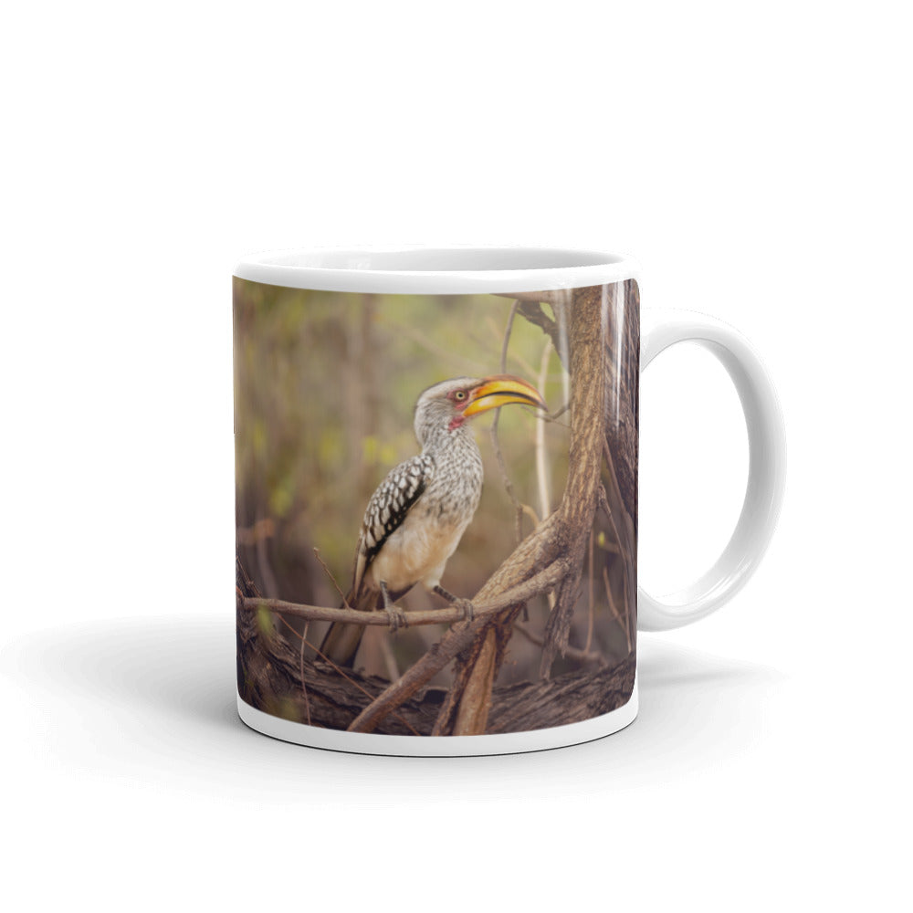 Yellow Hornbill Photo Coffee Mug