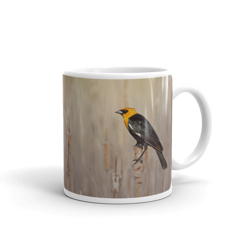 Yellow Headed Blackbird Photo Coffee Mug