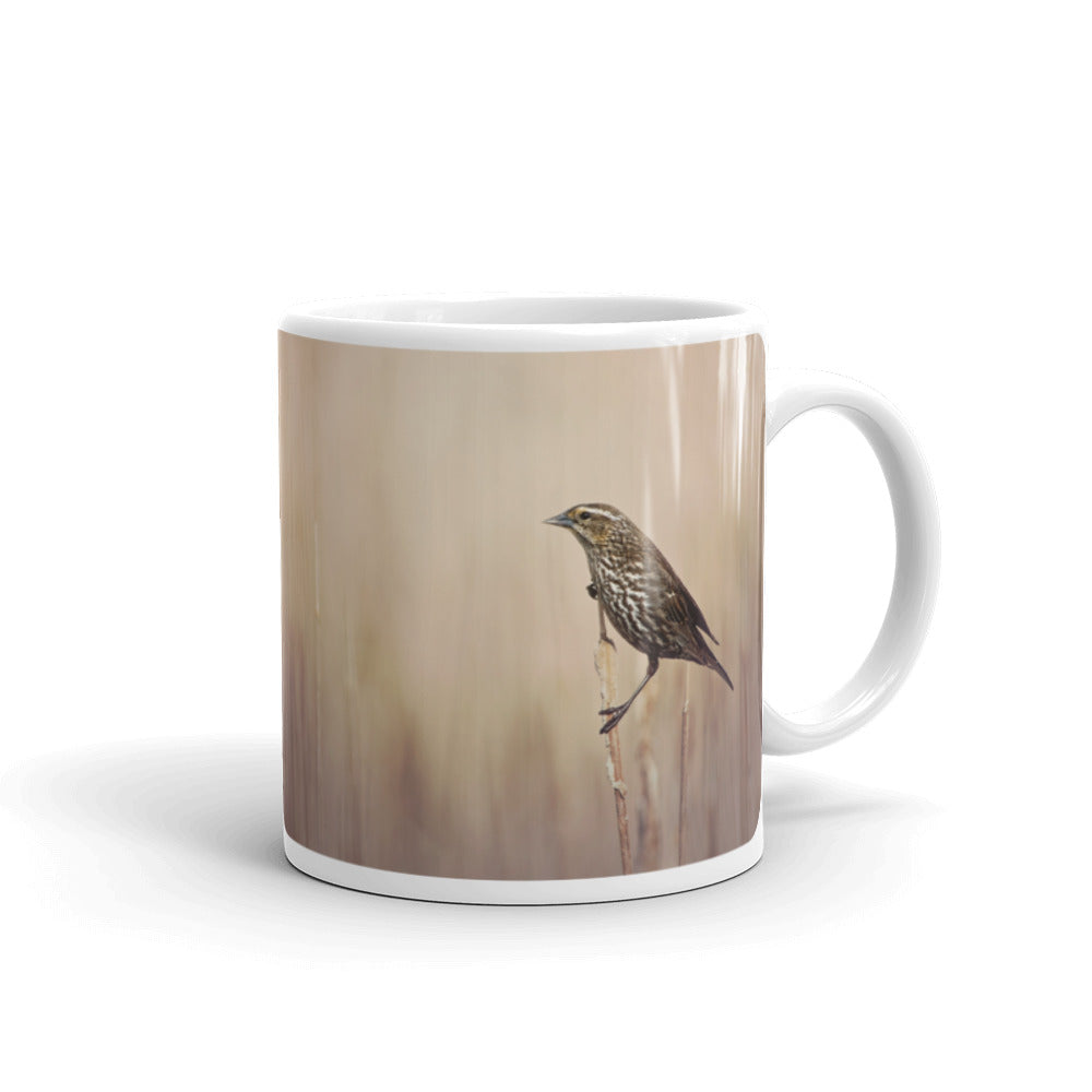 Red Winged Blackbird Photo Coffee Mug