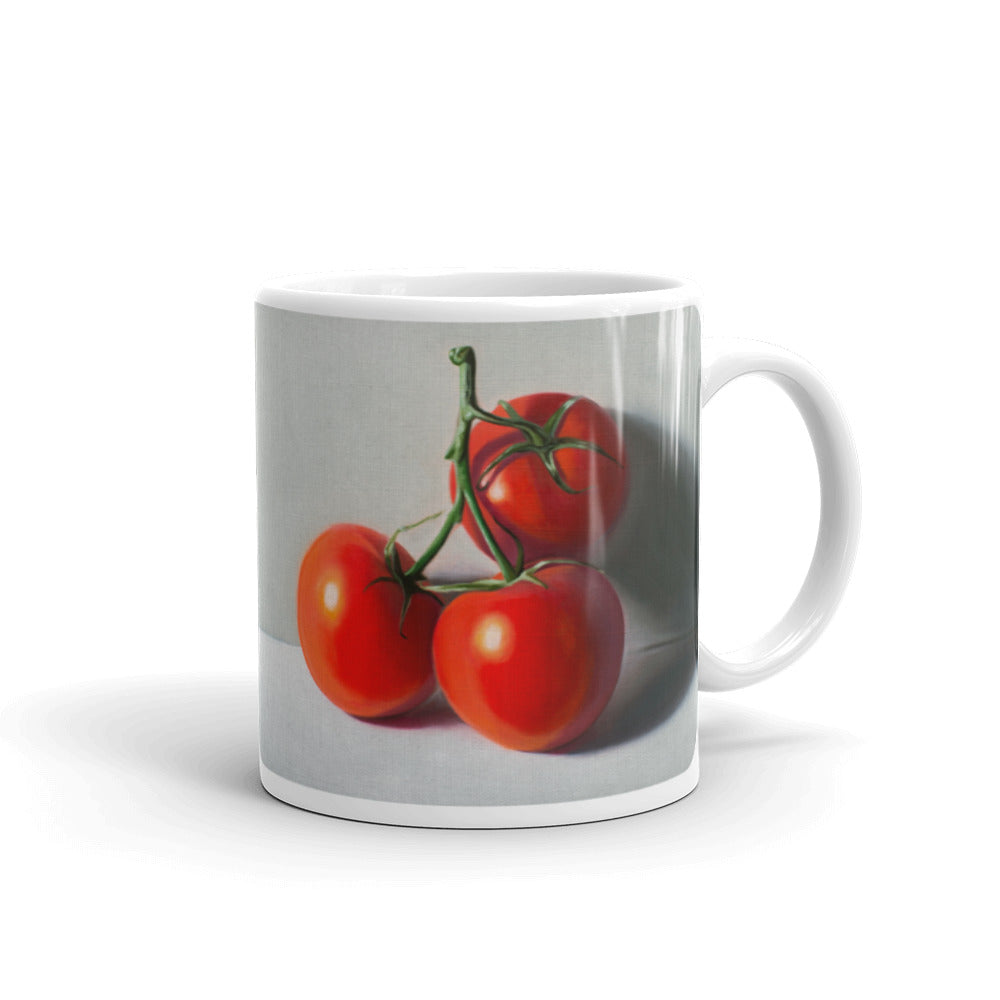 Tomato Trio Painting Coffee Mug