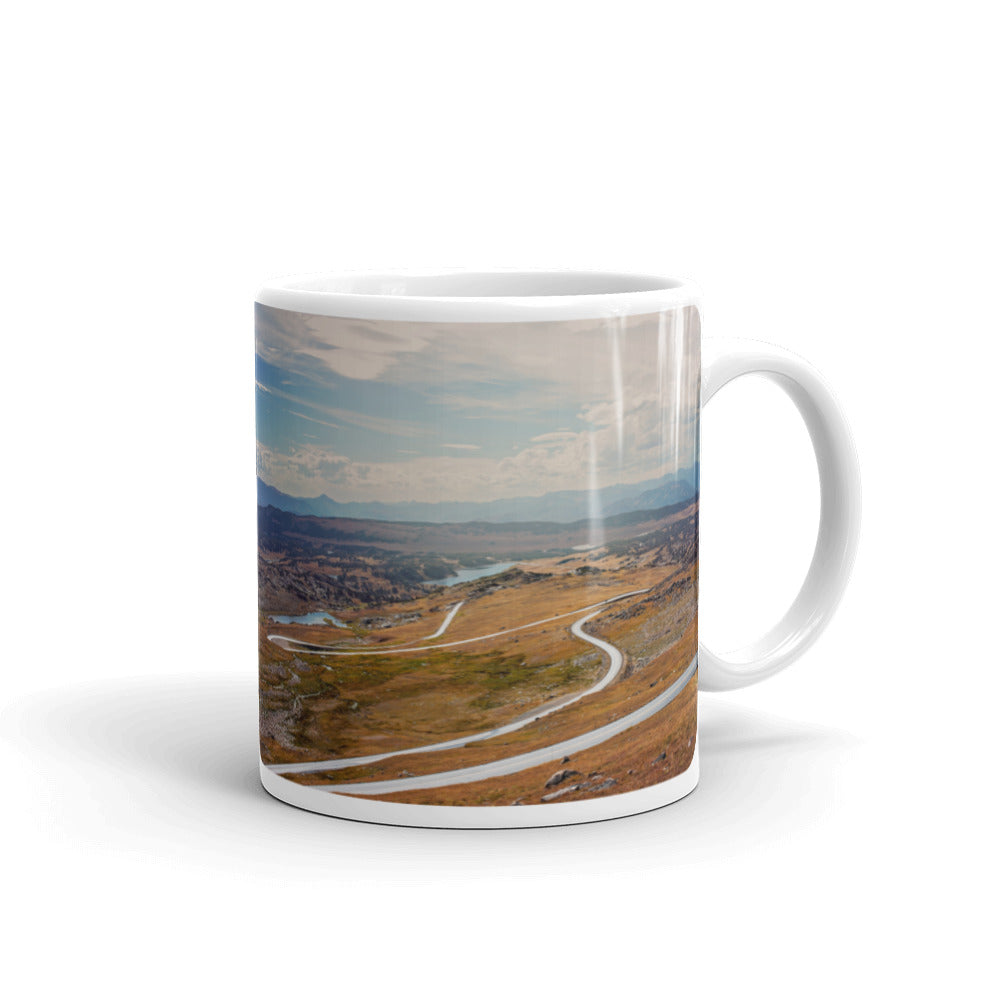Winding Road Photo Coffee Mug