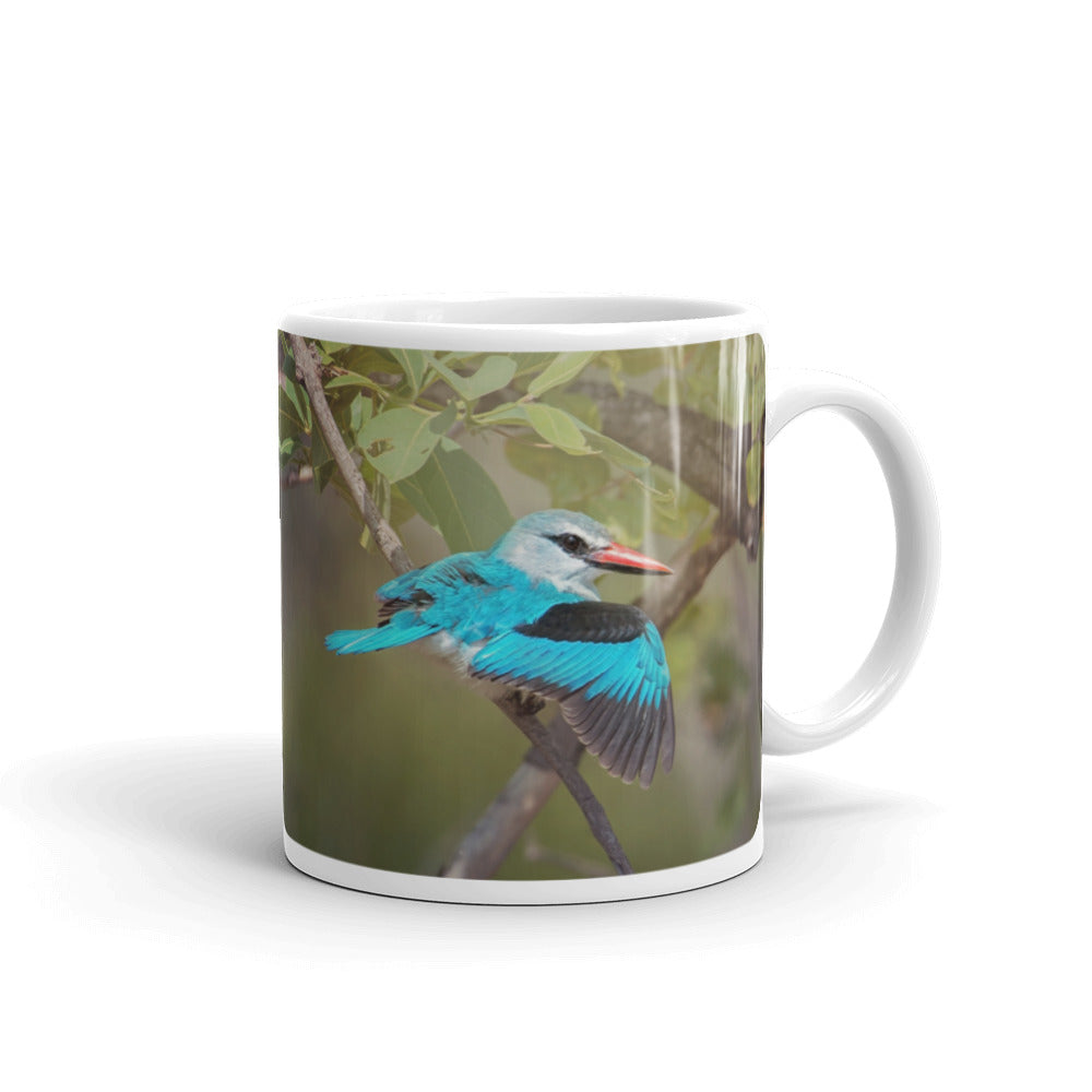 Woodland Kingfisher Photo Coffee Mug