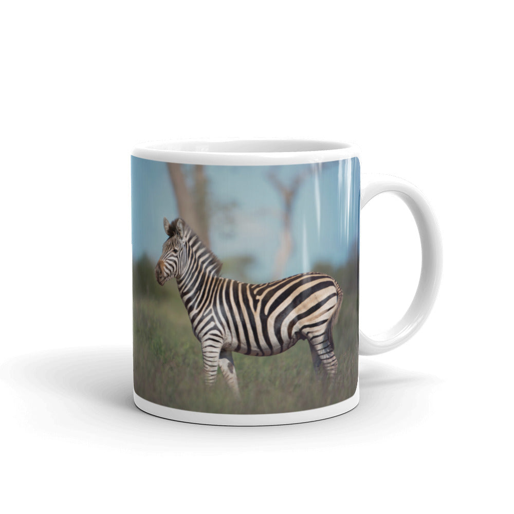 Zebra Photo Coffee Mug