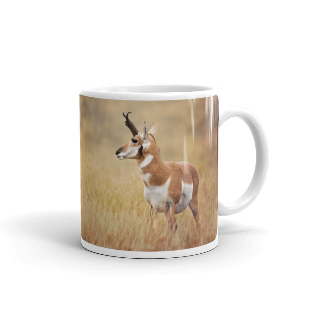 Pronghorn Sheep Photo Coffee Mug