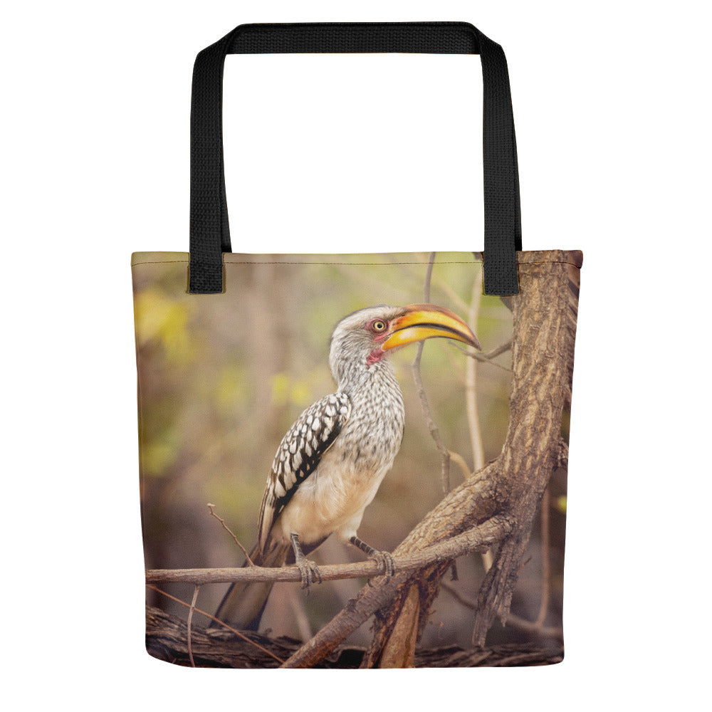 Yellow Hornbill Photo Tote Bag