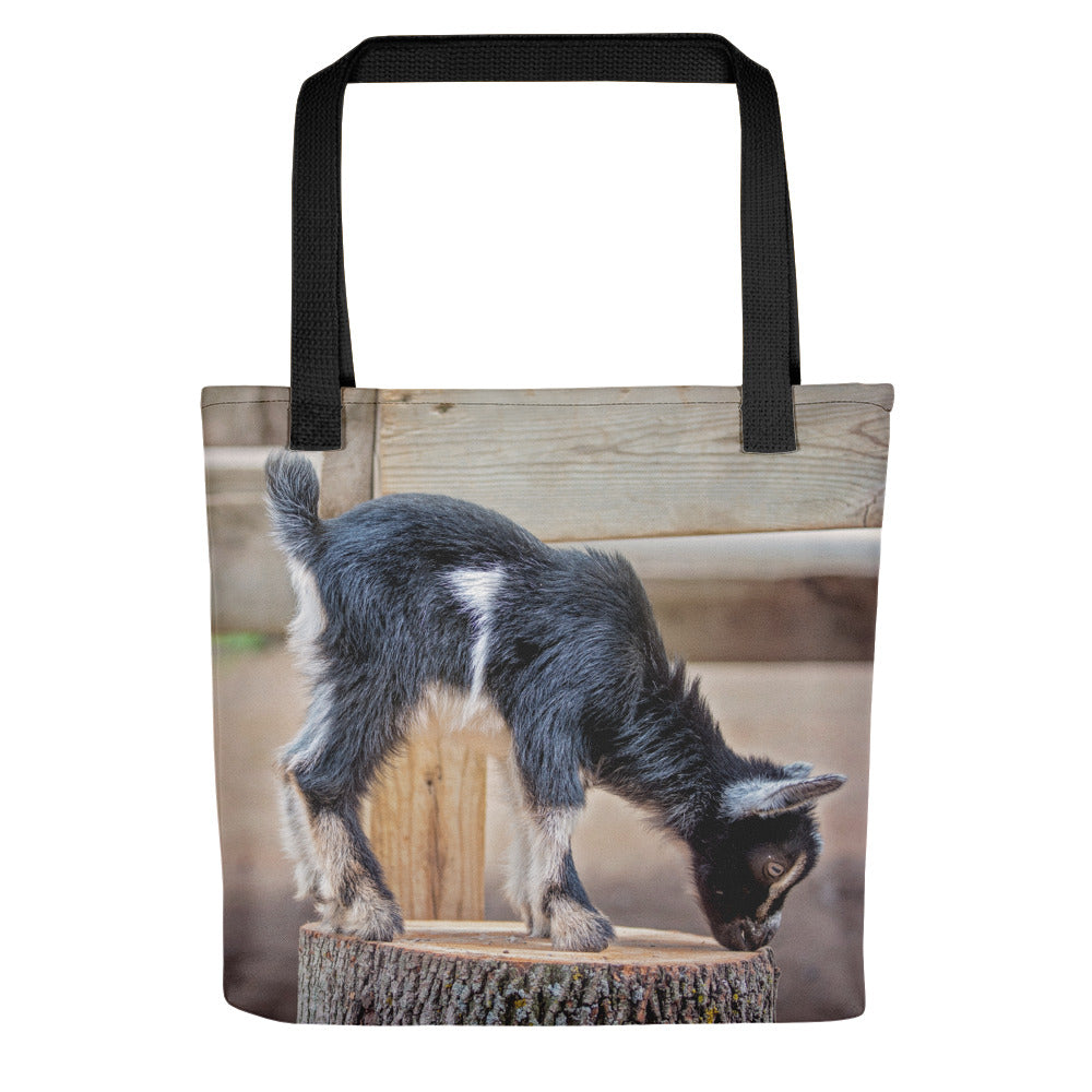 Young Goat Photo Tote Bag