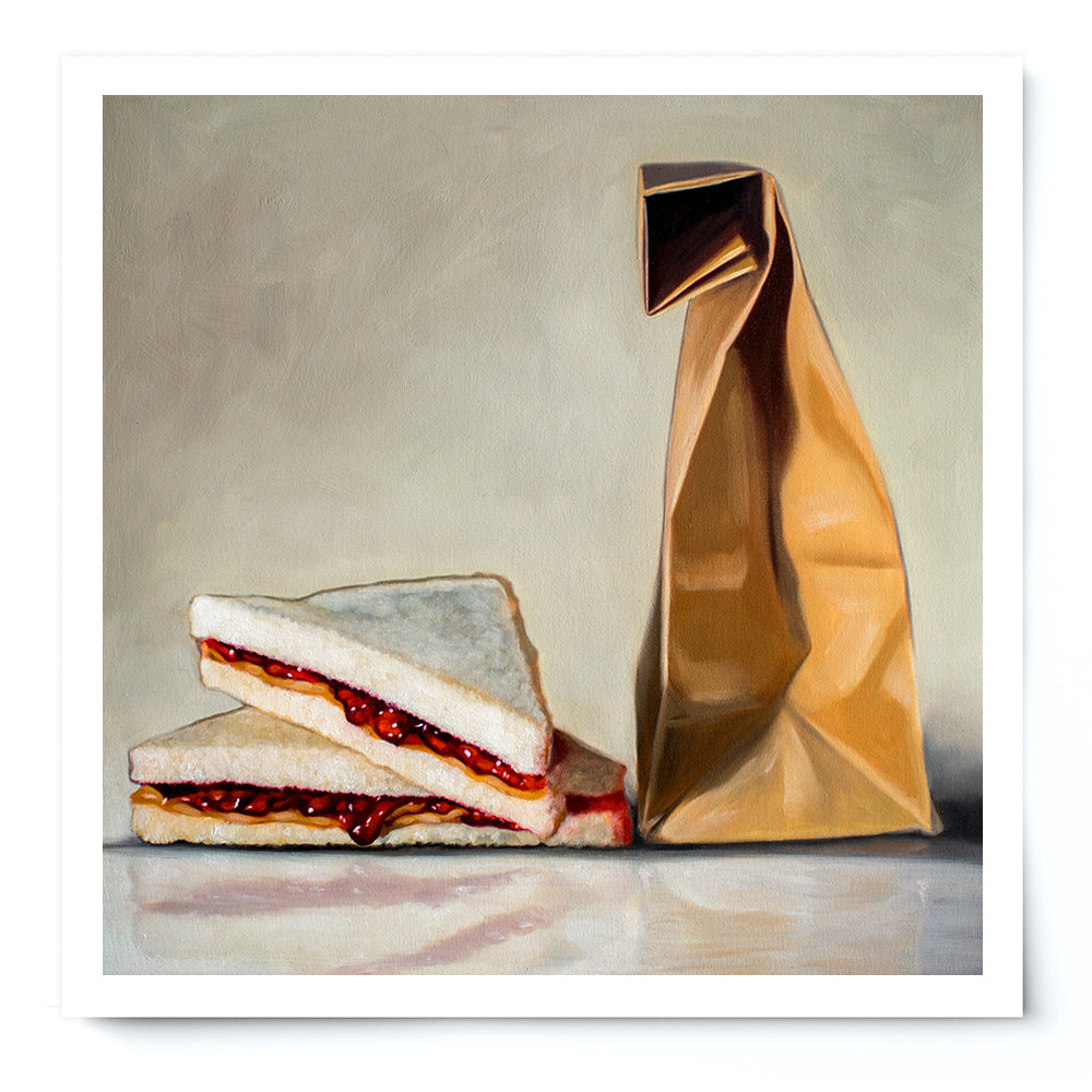 Peanut Butter and Jelly Fine Art Print