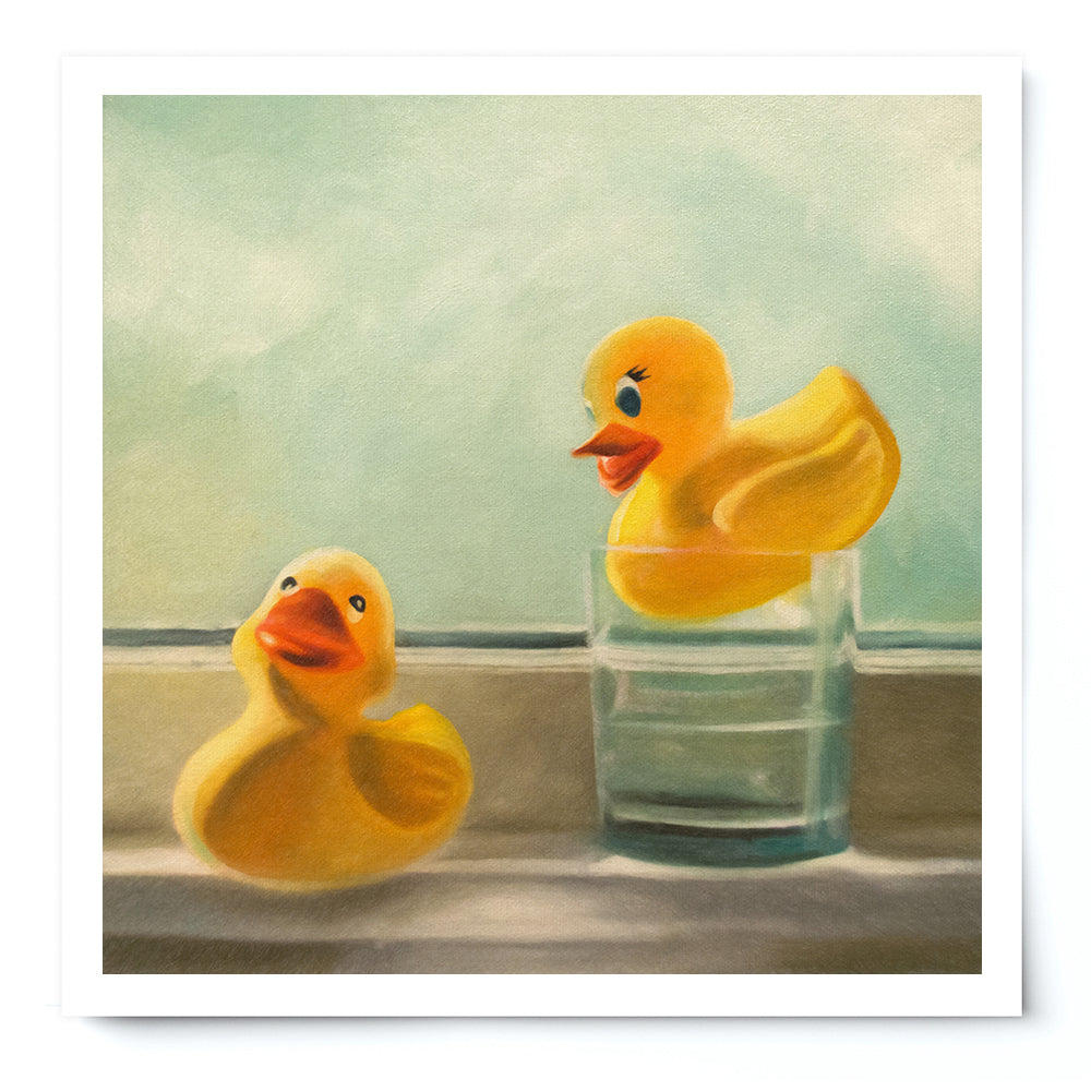 Yellow Rubber Duckies