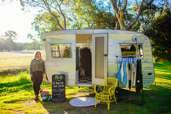 mobile boutique with australian fashion