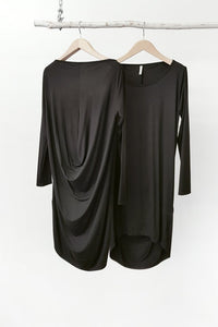 Tluxe Drape Back Dress