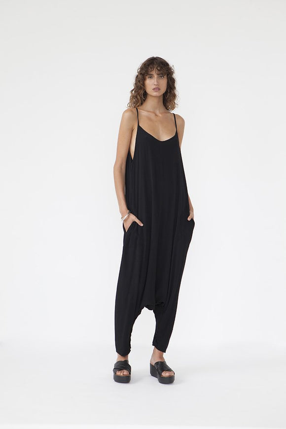Hareem Jumpsuit Black