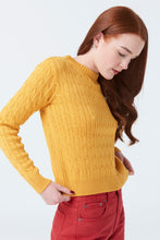 MCINTYRE 'THE MARIA' WOMENS MERINO CABLE KNIT