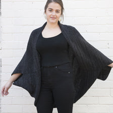 SHEEP-ISH OVERSIZE SHRUG