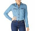 RINGERS WESTERN WOMENS CHAMBRAY SHIRT