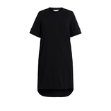 Australian Merino Wool T-Shirt Dress with stepped hem