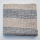 SHEEP-ISH STRIPED MERINO BABY BLANKET
