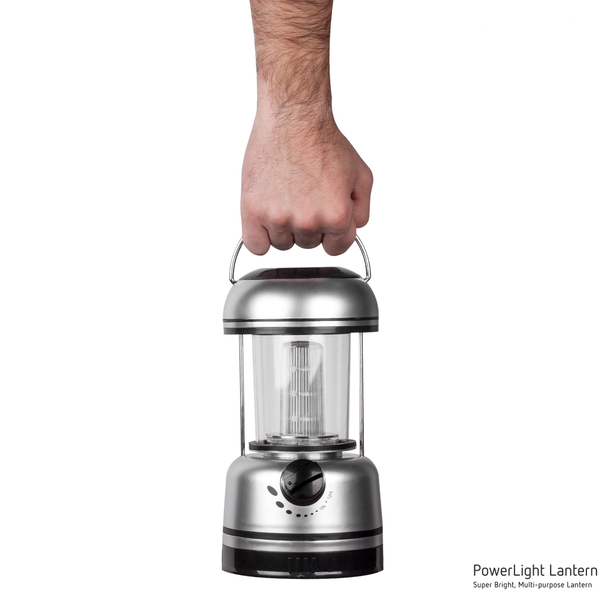 Silver Power Light Lantern