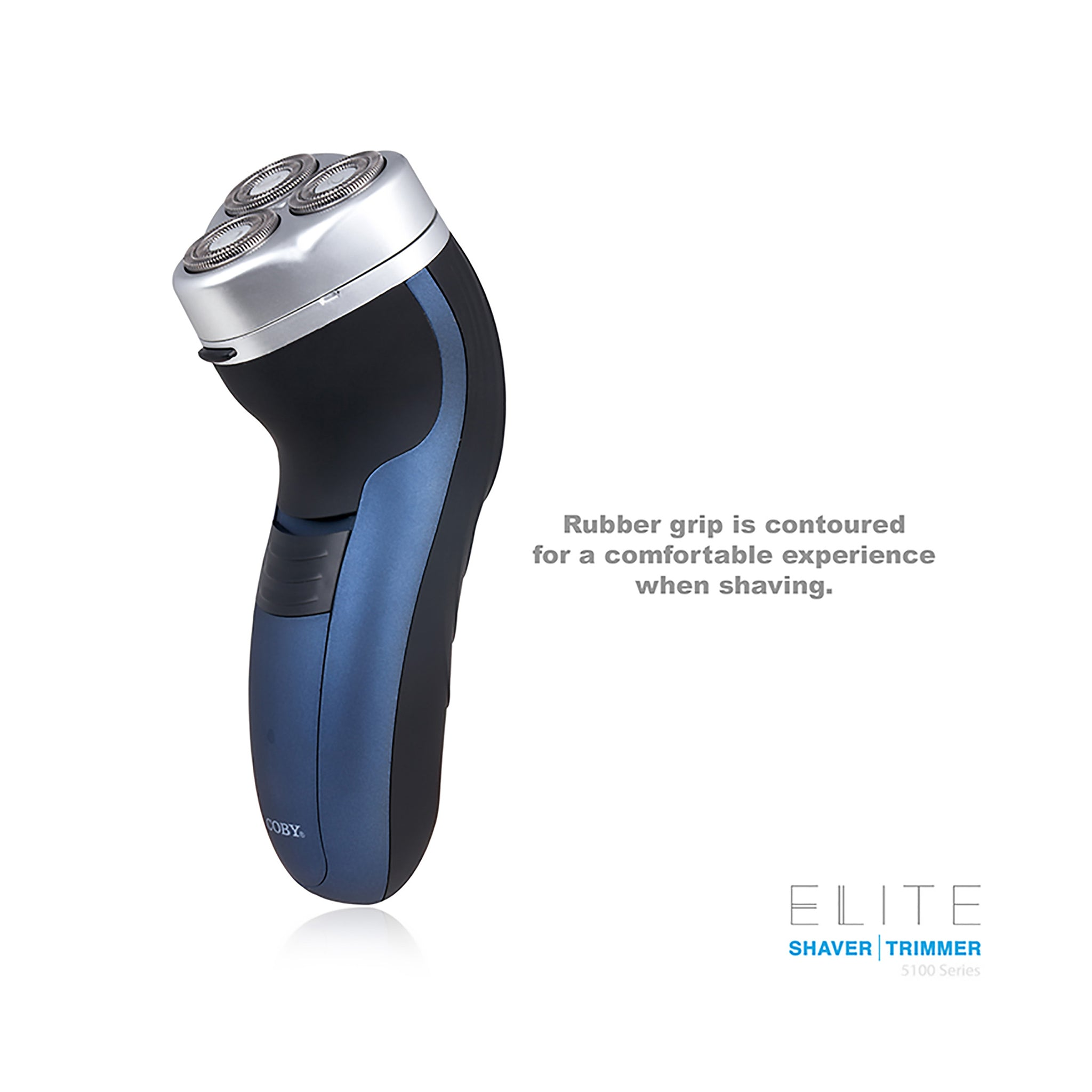 COBY ELITE Series Rechargeable 3 Head Rotary