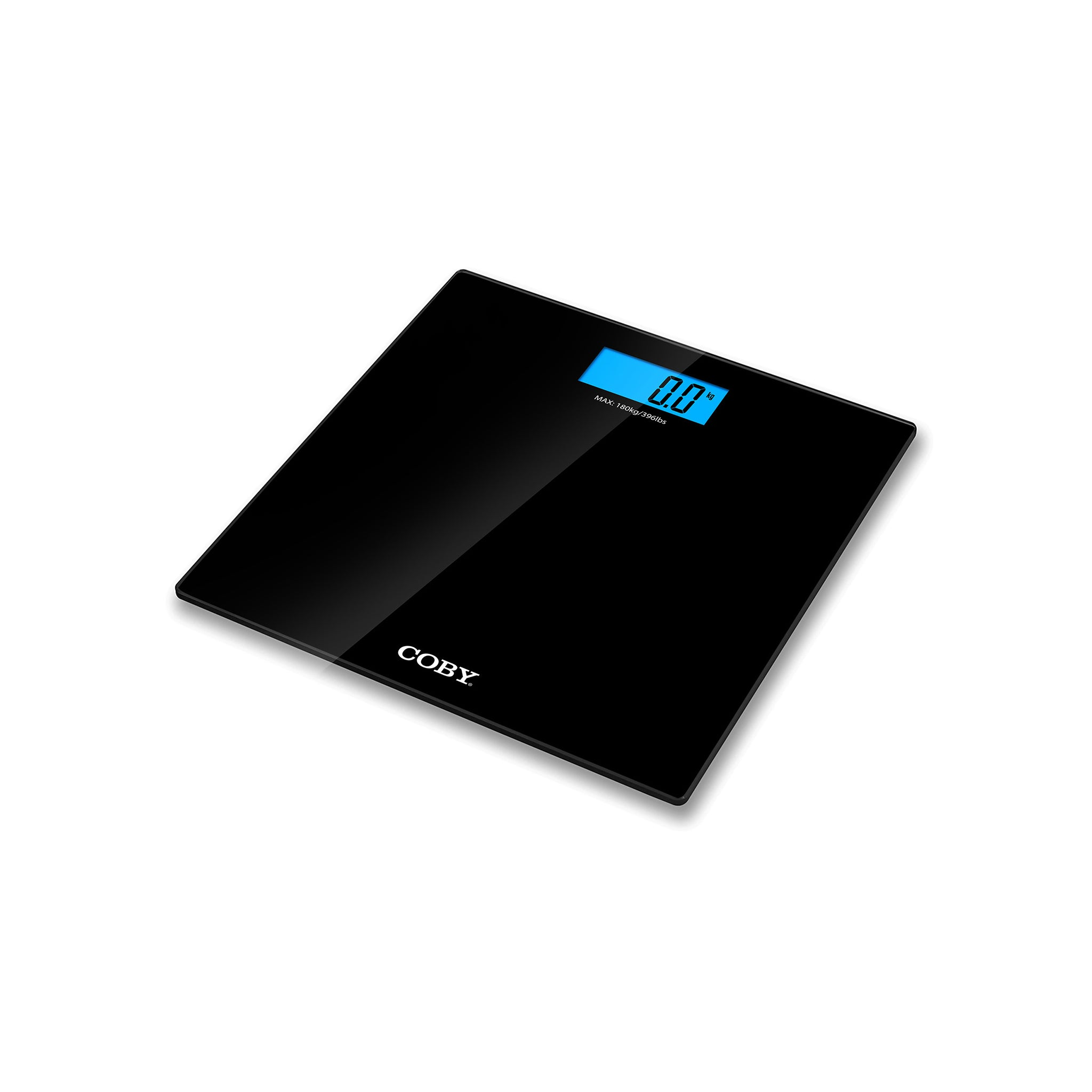 Digital Bathroom Scale with Blue