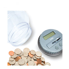 Coin Counter Jar