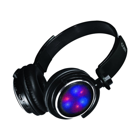 LIGHT UP SWIVEL BLUETOOTH HEADPHONES